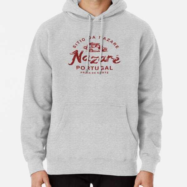 PORTUGAL Nazare Portuguese Surfing Vintage Pullover Hoodie