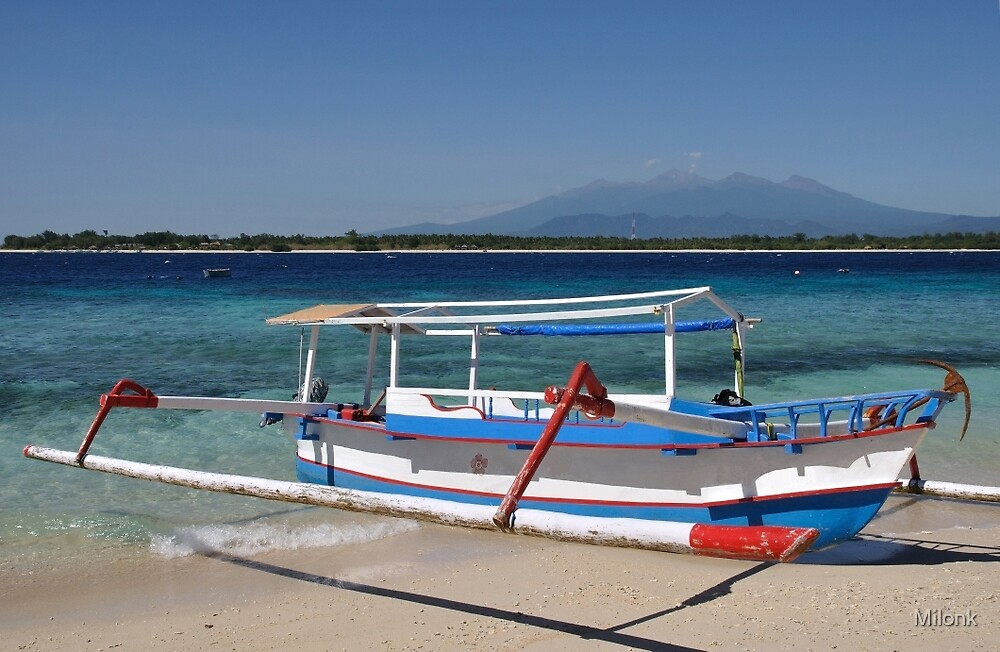 Indonesian boat by Milonk