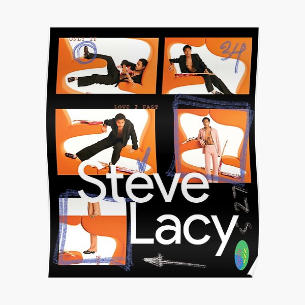 Steve Lacy Contact Sheet Poster Poster