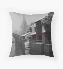 Suzhou Winter Throw Pillow