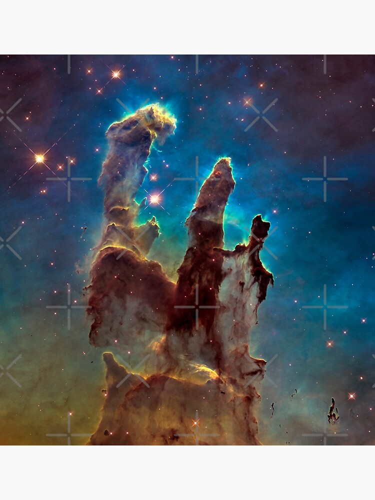 Pillars of Creation by EarthMoonStars
