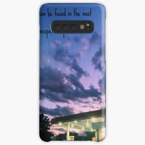 Beauty is everywhere including the corner gas station Samsung Galaxy Snap Case