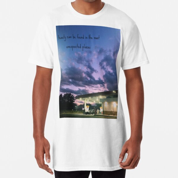 Beauty is everywhere including the corner gas station Long T-Shirt