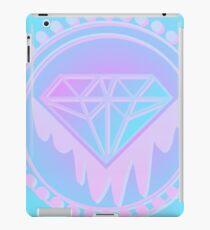 Pastel Diamond neon Screen print iPad Case/Skin