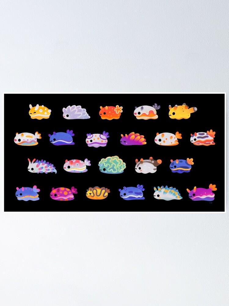 Alternate view of Sea Slug Day Poster