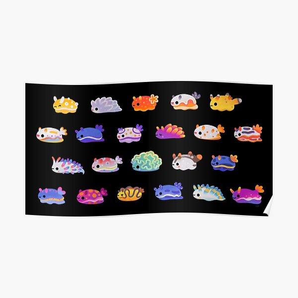 Journée des limaces de mer Poster
