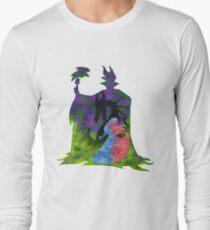 Once Upon a Dream - Splash Dress Long Sleeve T-Shirt