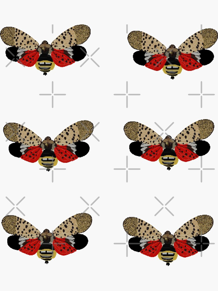 Spotted Lanternfly by radiantdark