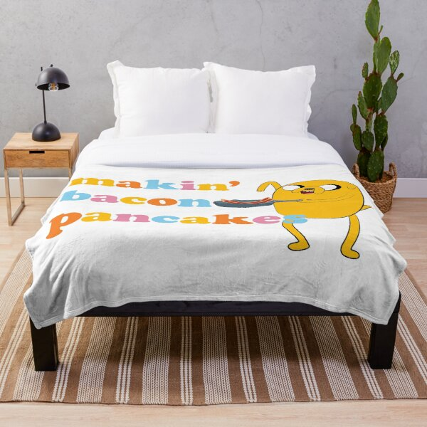 "Adventure Time™ ""Makin' Bacon Pancakes"" Throw Blanket"