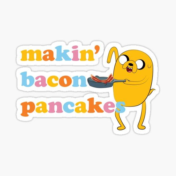 "Adventure Time™ ""Makin' Bacon Pancakes"" Sticker"