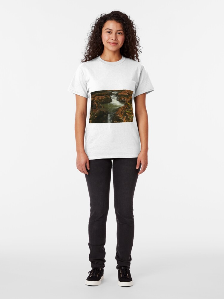 Alternate view of The Beauty of Water ~ Leafy Waterfall  Classic T-Shirt
