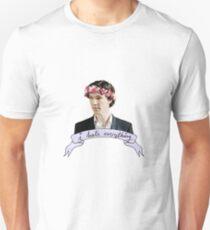 Sherlock Holmes - I hate everything T-Shirt