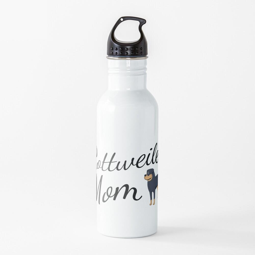 Rottweiler Mom Water Bottle