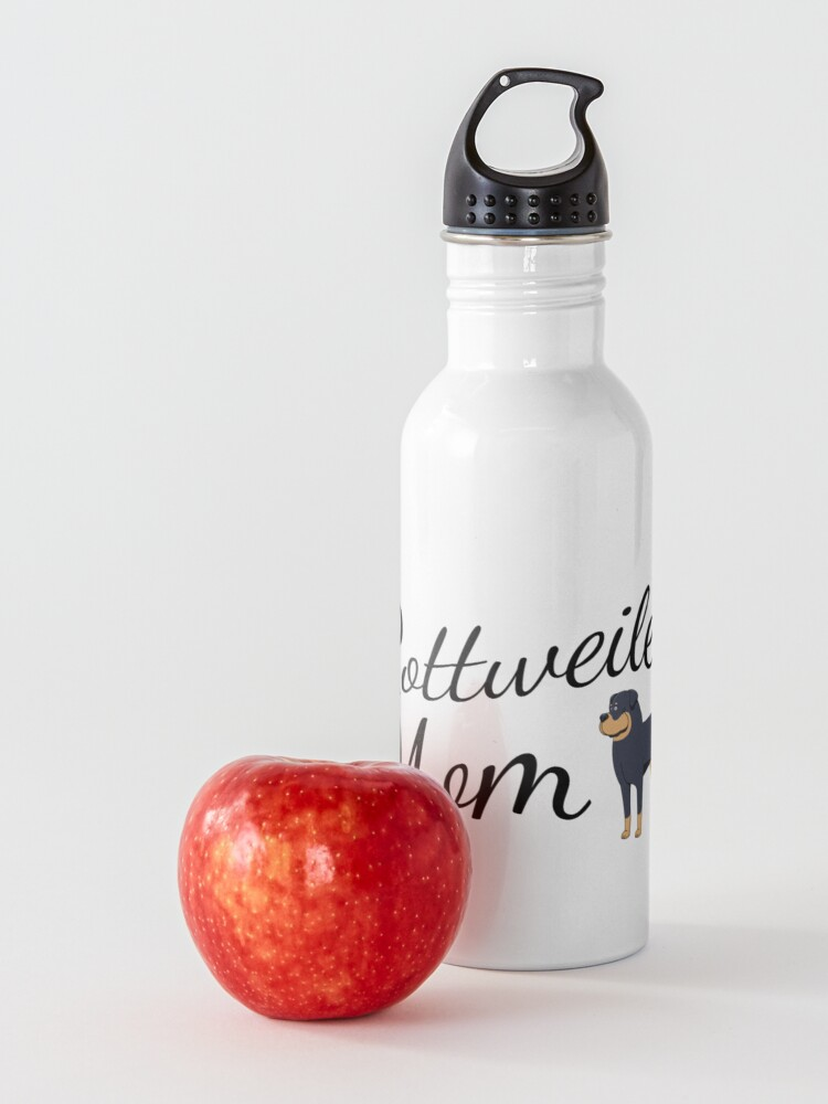 Alternate view of Rottweiler Mom Water Bottle