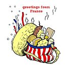 Greetings from France by -DIsForDoodle-