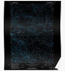 USGS Topo Map Oregon Virtue Flat 281976 1994 24000 Inverted Poster
