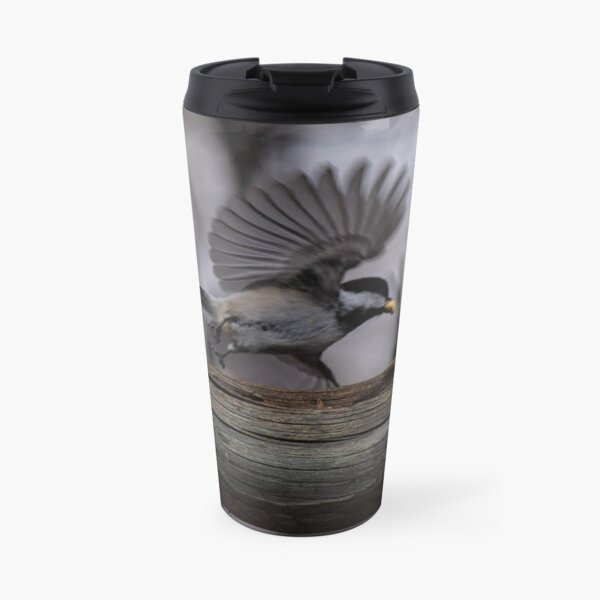 Chickadee and Peanut. Travel Mug