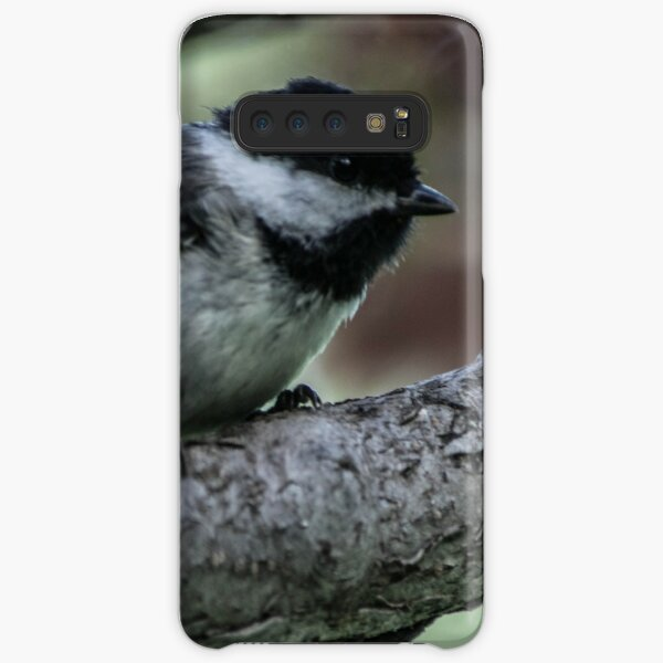 Chickadee Perched. Samsung Galaxy Snap Case