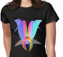 Alien or Flower? tee Womens Fitted T-Shirt