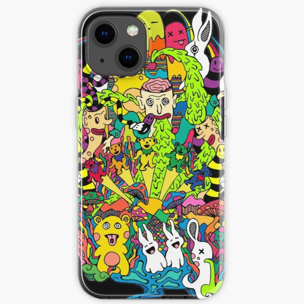 LSD Color iPhone Soft Case