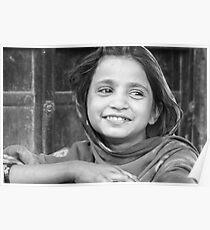 village girl in Rajasthan Poster