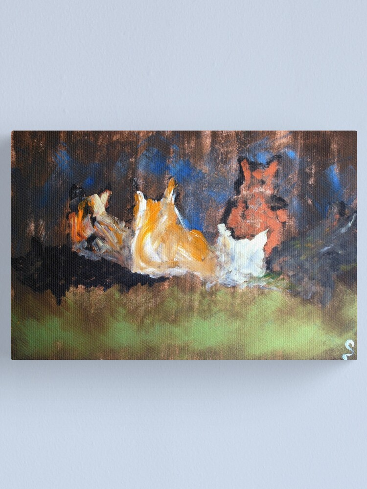 Alternate view of Souls Of Cats Canvas Print