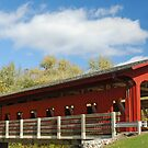 Little Red Covered Bridge by Kevin Price