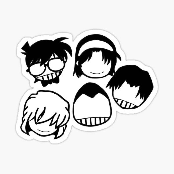 Les détectives garçons Sticker
