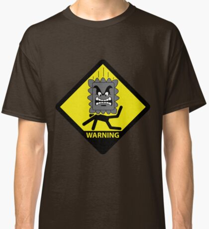 Crushing Hazard sign Classic T-Shirt