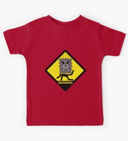 Crushing Hazard sign Kids Clothes