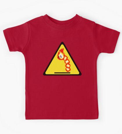 Fire Snake Hazard Kids Clothes