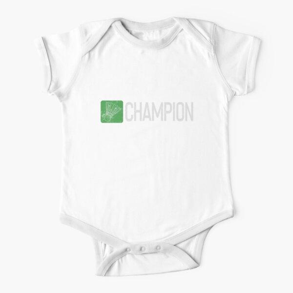 Badminton Champion Short Sleeve Baby One-Piece