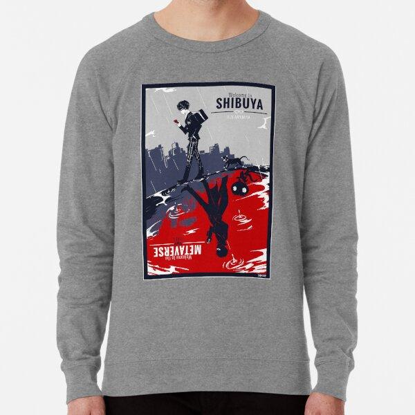 Shibuya/Metaverse Lightweight Sweatshirt