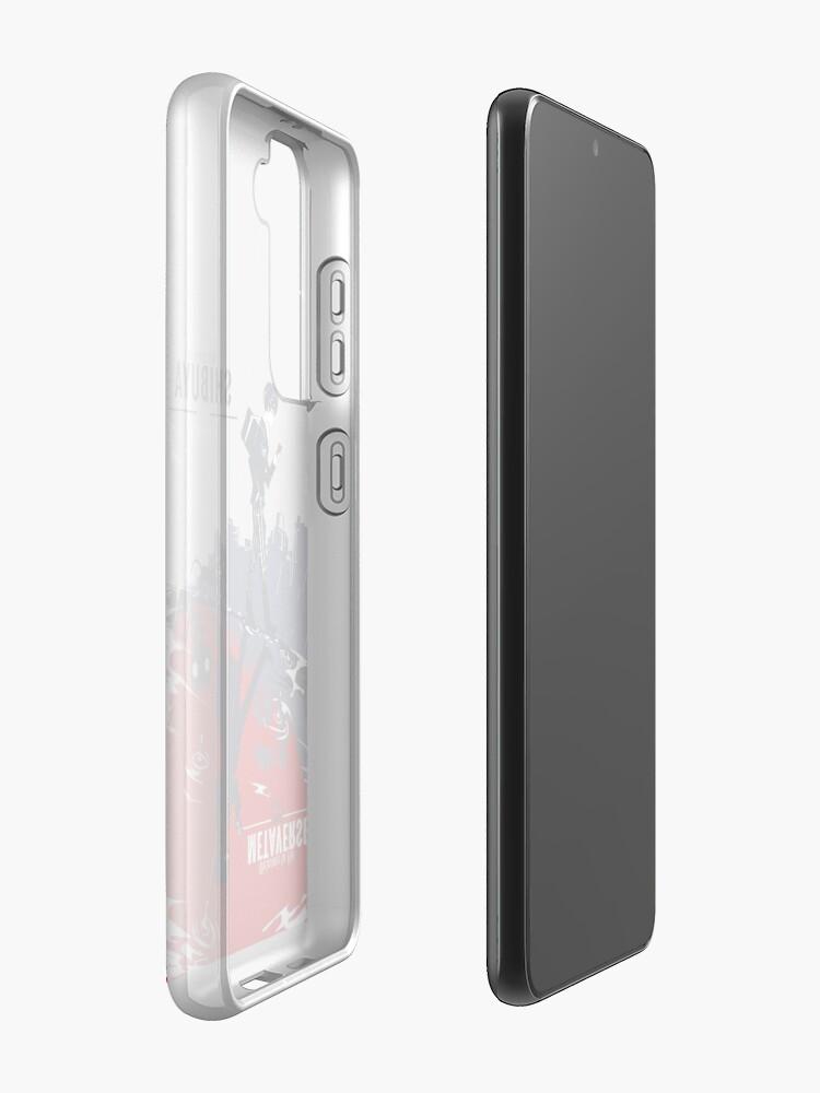Alternate view of Shibuya/Metaverse Samsung Galaxy Phone Case