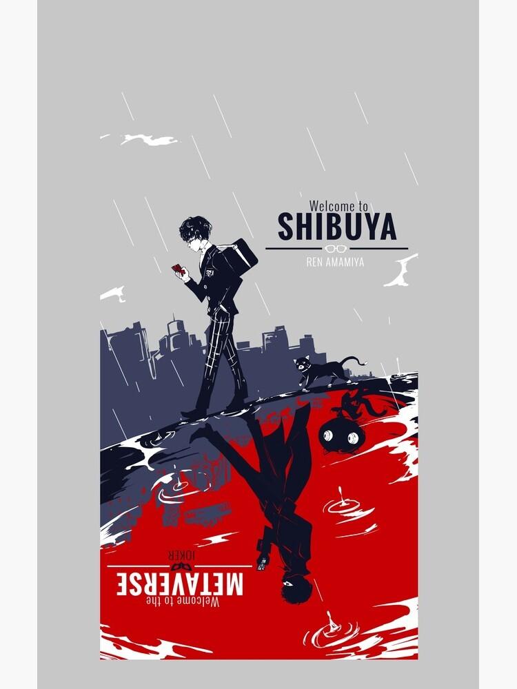 Shibuya/Metaverse by SnipSnipArt