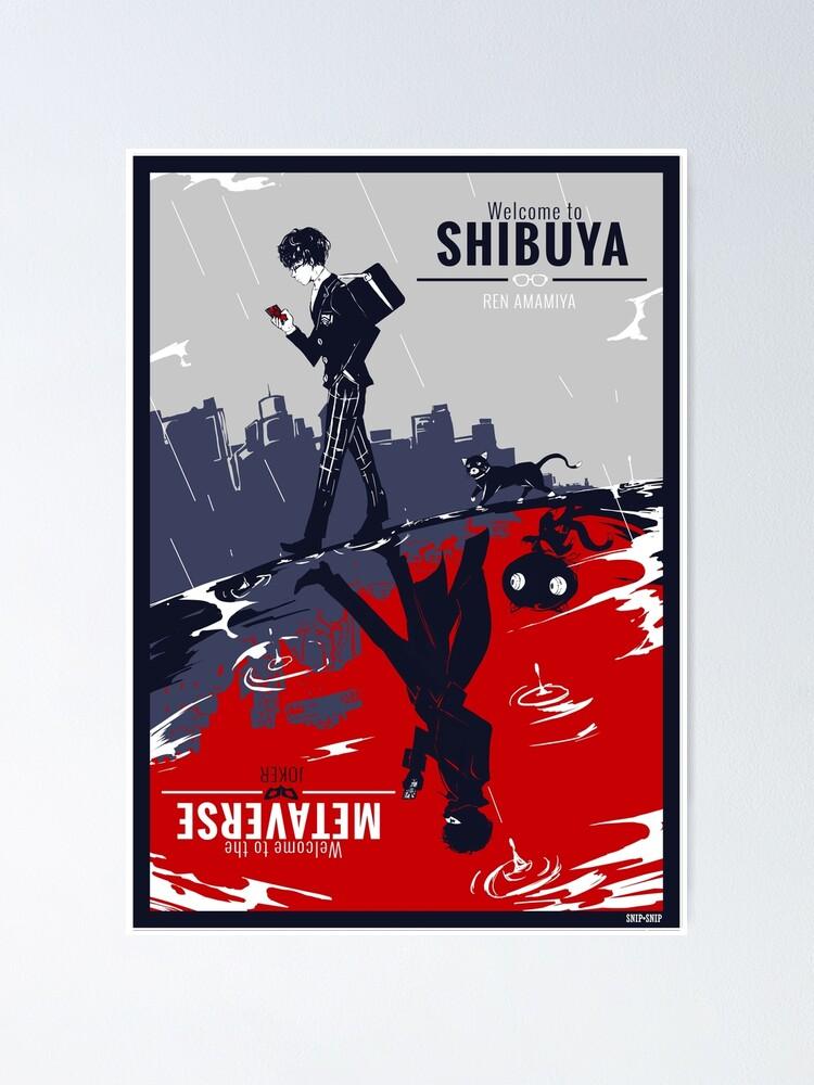 Alternate view of Shibuya/Metaverse Poster