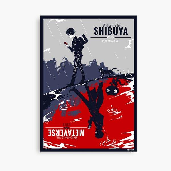 Shibuya/Metaverse Canvas Print