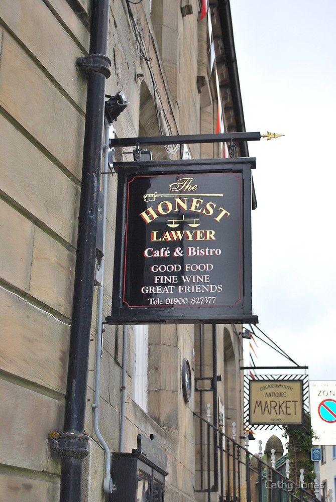 Honest Lawyer by Cathy Jones