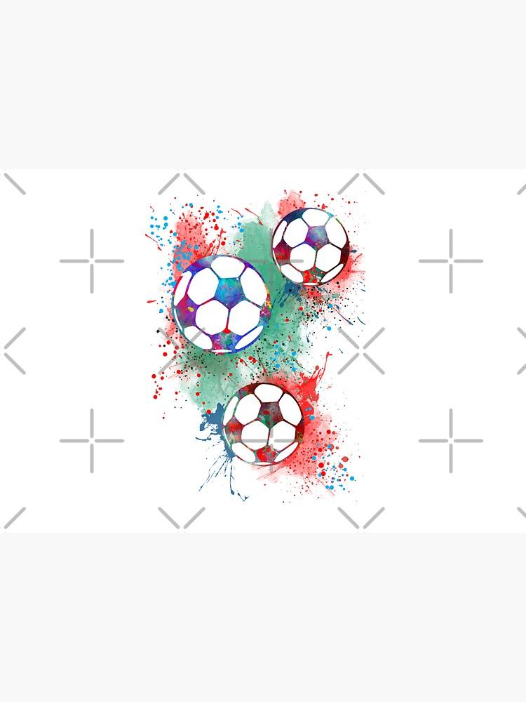 Soccer ball by Rosaliartbook