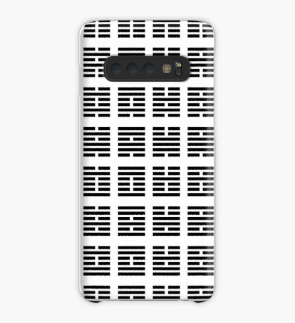 I Ching hexagrams Case/Skin for Samsung Galaxy