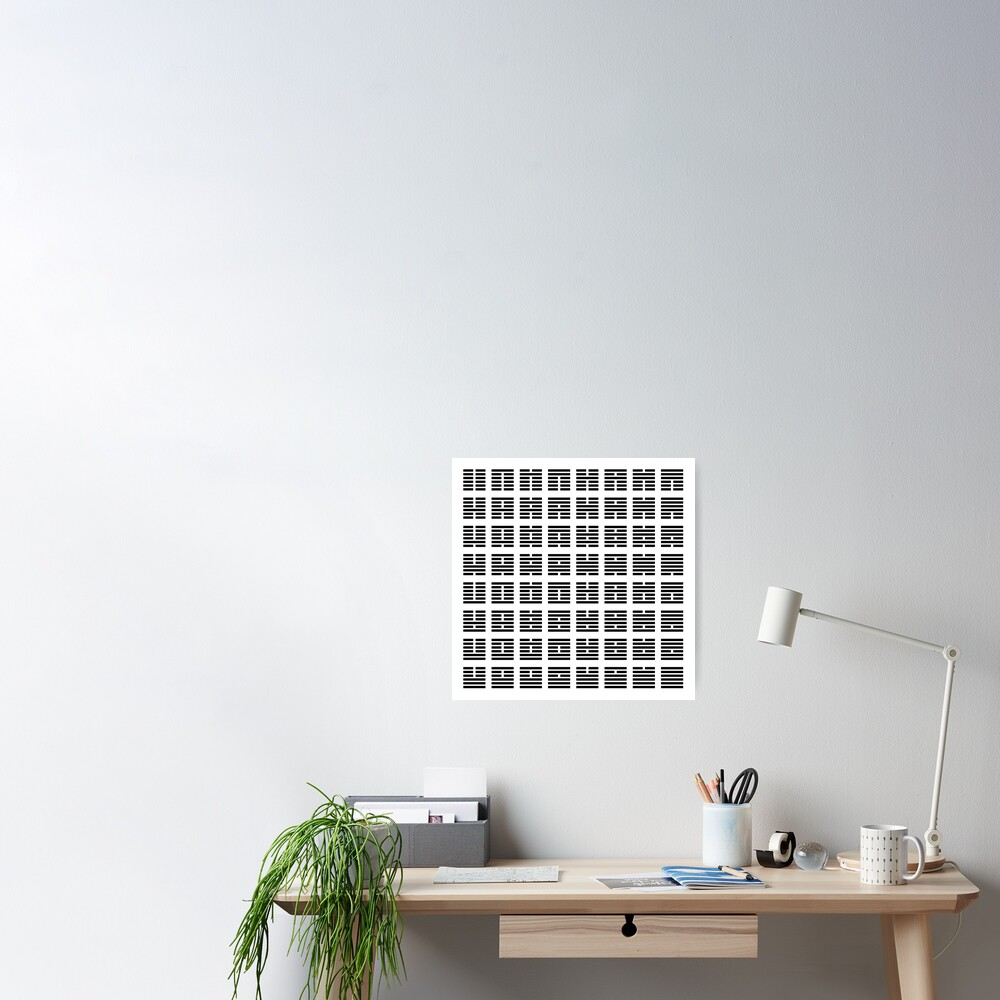 I Ching hexagrams Poster