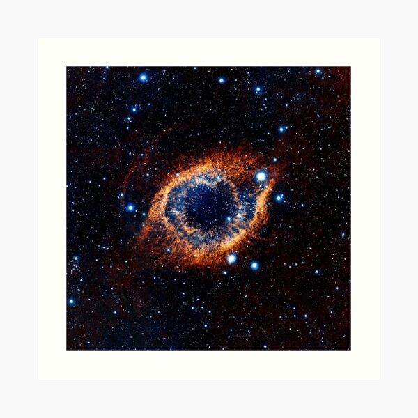 Helix Nebula (Infrared) Art Print