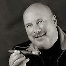 The man with a cigar by Klaus Bohn