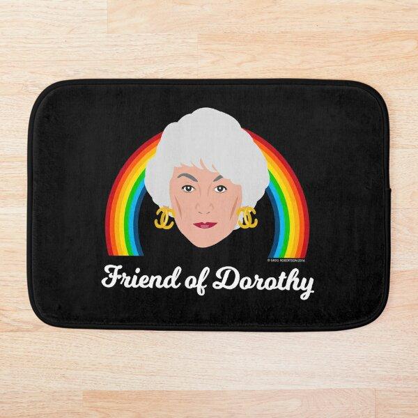 Friend of Dorothy Bath Mat