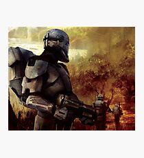 Clone Commando Patrol   Photographic Print