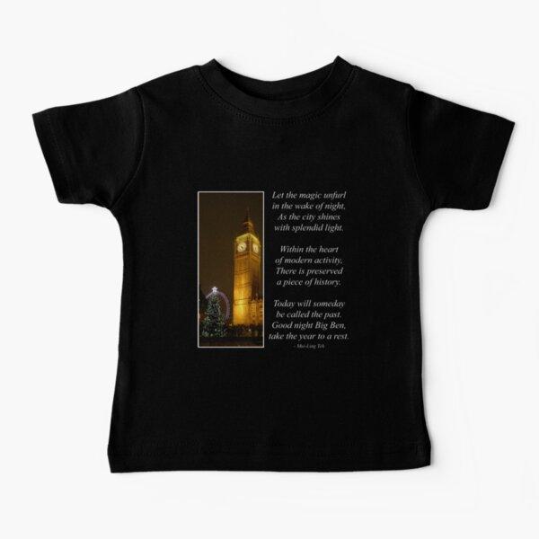 Big Ben ticks Goodnight Baby T-Shirt