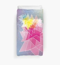 Stars and Hexagons Duvet Cover