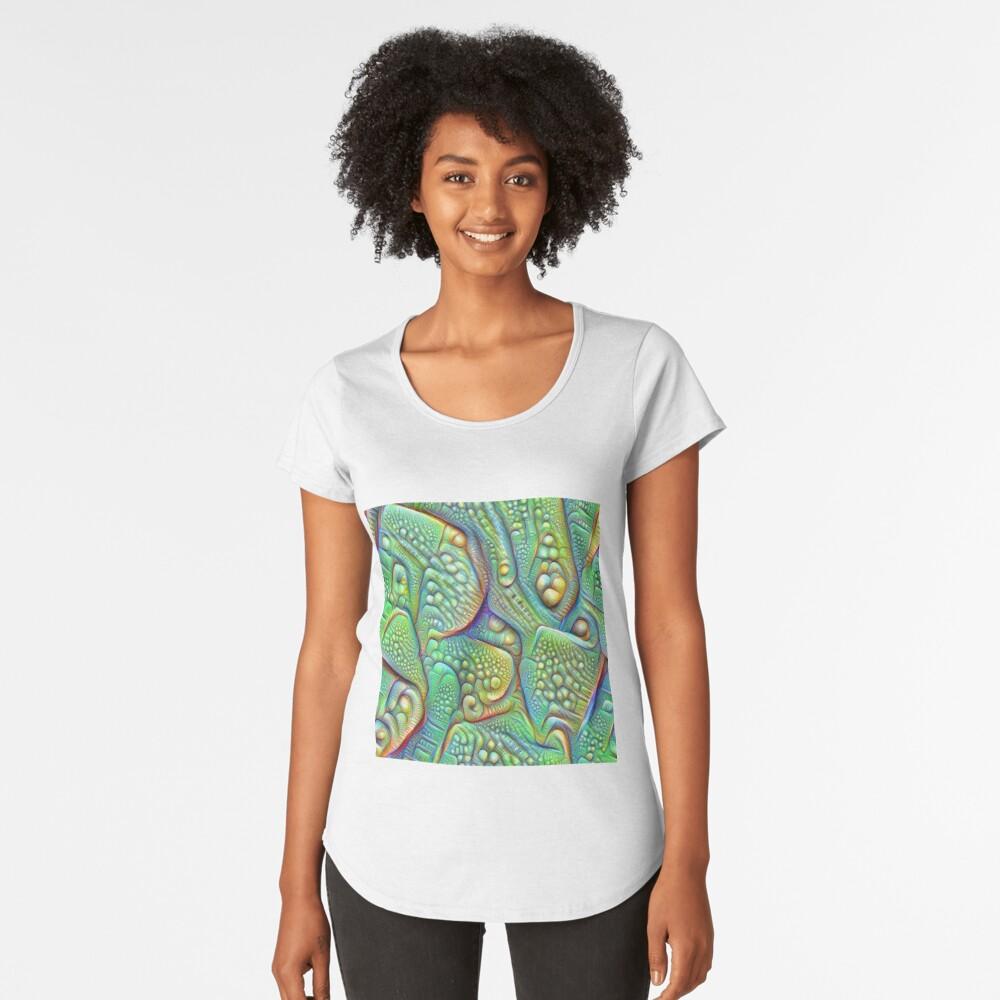 Abstraction #DeepDream Premium Scoop T-Shirt