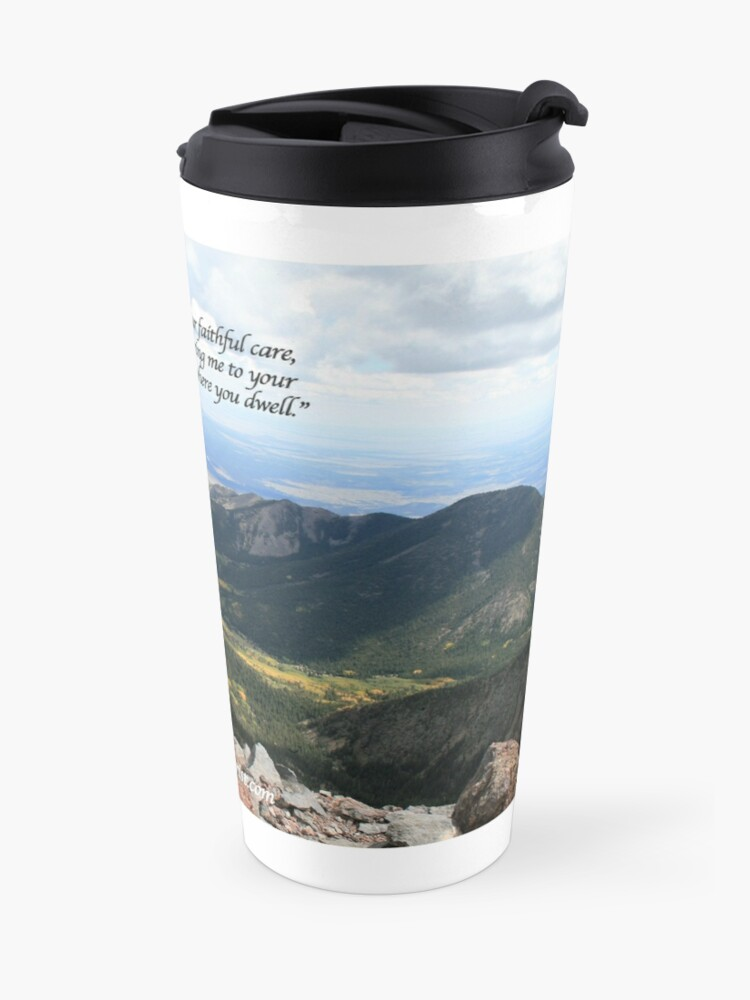 Alternate view of Celebrating Christ Summit Story Mug with Psalm - From ccnow.info Travel Mug