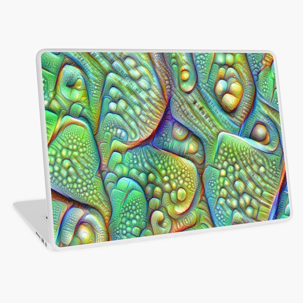 Abstraction #DeepDream Laptop Skin